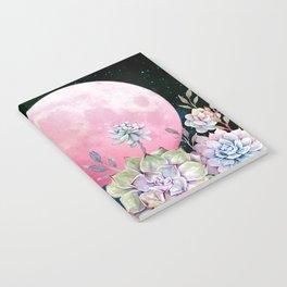 succulent full moon 3 Notebook