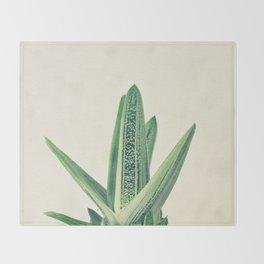 Cactus III Throw Blanket
