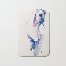 Owl Night Guard Bath Mat