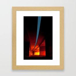 Under the road Framed Art Print