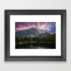 The Colorado Rockies Framed Art Print