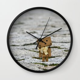 I'm on the world alone and yet not alone enough ... Wall Clock