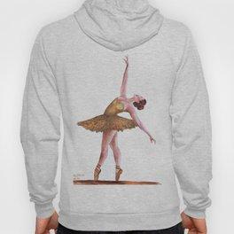 Gold Ballerina Hoody