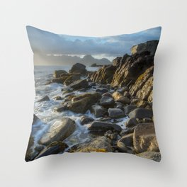 The Cuillin From Elgol Throw Pillow
