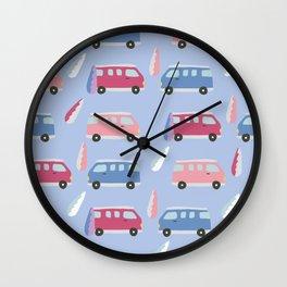 Vanlife Wall Clock