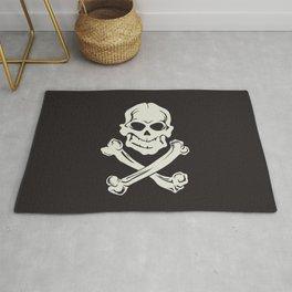 Jolly Roger pirate flag Rug
