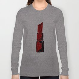 Ruby Red Lipstick  Long Sleeve T-shirt