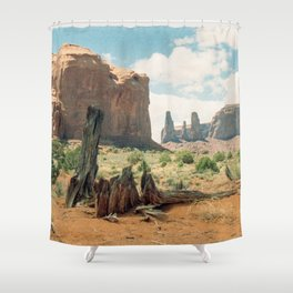 Southwest Desert Valley Shower Curtain