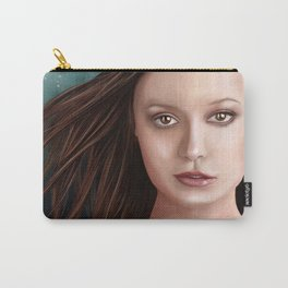 Summer Glau - The girl with the beautiful face Carry-All Pouch