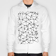 Ab Out Lines With Spots White Hoody