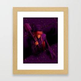 Undertaker Colour Challenge Framed Art Print