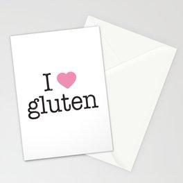 I Heart Gluten Stationery Cards