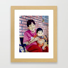 Cherished Moments Framed Art Print