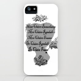 Claire Beauchamp Randall Fraser iPhone Case