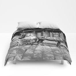 New Orleans milk cart Comforters
