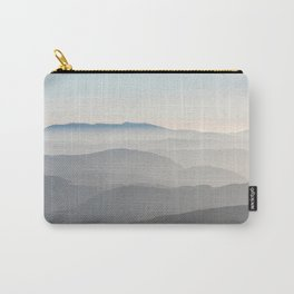 Foggy Mountains Carry-All Pouch