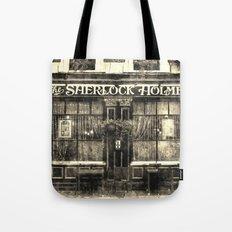 The Sherlock Holmes pub Vintage Tote Bag