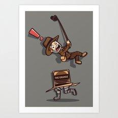 Snaaaaake! Art Print