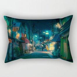 Japan Vibes - Tokyo Japan Night Photography Rectangular Pillow
