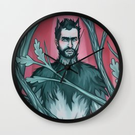 Wolf Derek Wall Clock