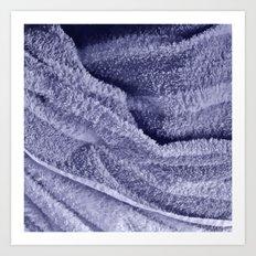 Towel Art Print