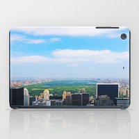 central park iPad Cases featuring Central Park by NaturallyJess
