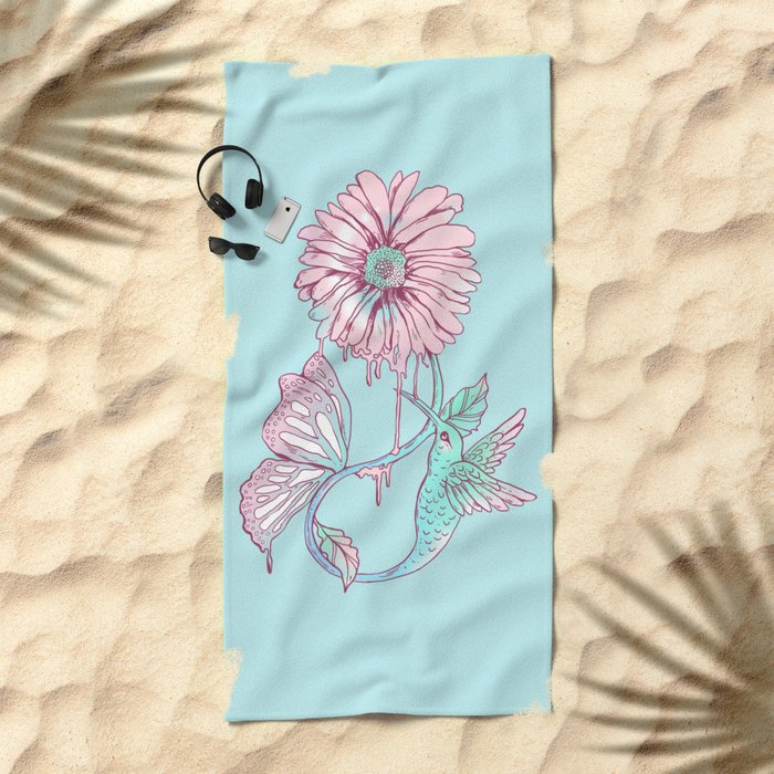 A Cycle of Existence Beach Towel
