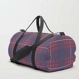 Flannel Plaid Design Pattern Duffle Bag