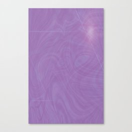 Purple Puddle Canvas Print