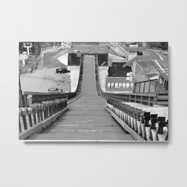 From the Top Metal Print