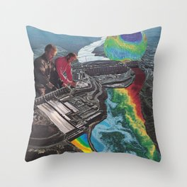 Acid House Throw Pillow