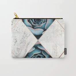 Copper & Marble & Succulent 01 Carry-All Pouch