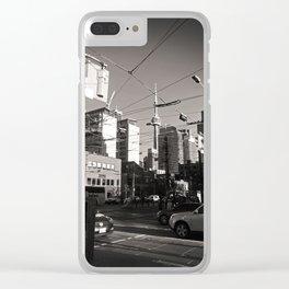 Queen Street, Toronto Clear iPhone Case