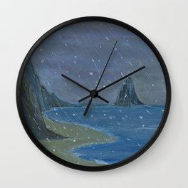 Let it snow, Moby ... Wall Clock