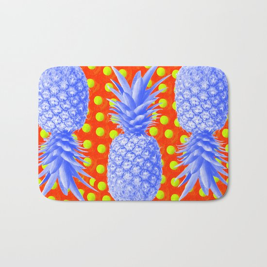 Pineapple Oyster Bath Mat