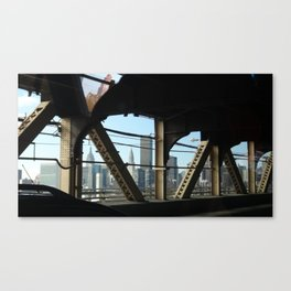 Riveted Canvas Print