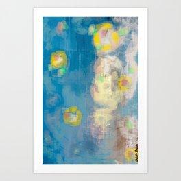 Love Lies Beneath Art Print
