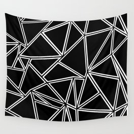 Shattered Ab Zoom Wall Tapestry