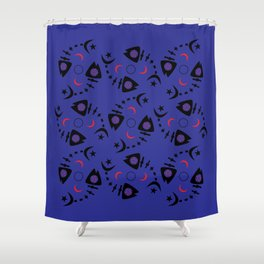 Occult Fish Shower Curtain