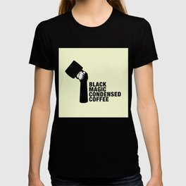 Black magic condensed COFFEE T-shirt