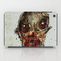in the flesh iPad Cases featuring Hungry For Human Flesh by Grant Hunter