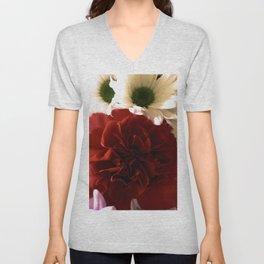 Floral Fantasy Unisex V-Neck
