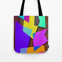 Sharp Shapes texture Tote Bag