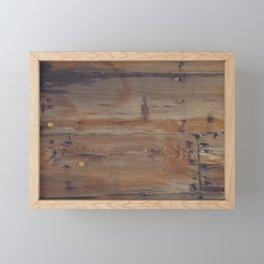 Shipboard Planks Framed Mini Art Print