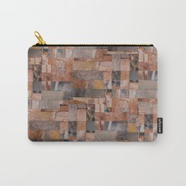 Copper Collage Carry-All Pouch