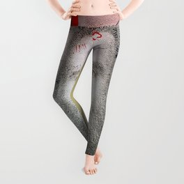 Self-Portrait, Admitted, Crucified at Customs. July 20, 2015 Leggings