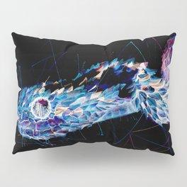 Negative bush viper Pillow Sham