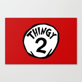 Thingy2 Canvas Print