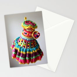 Watering Pompoms (2) Stationery Cards