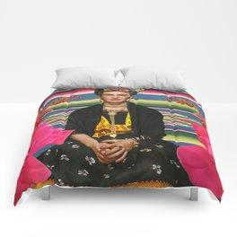 Frida Kahlo Folclore Comforters